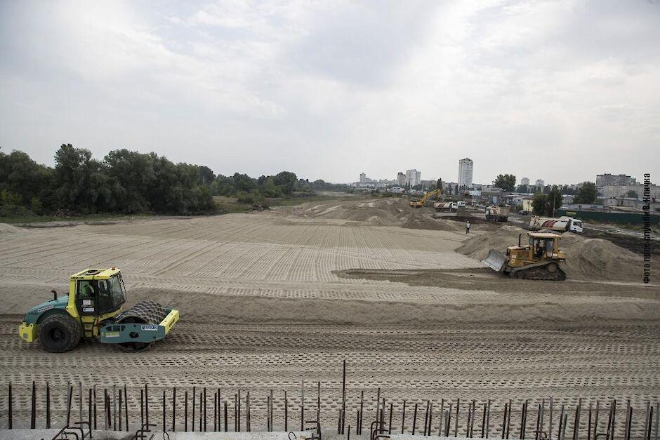 Большую Кольцевую в Киеве обещают закончить в этом году